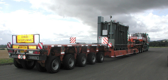 Machinery relocation - Heavy transport