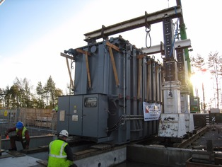 Lifting a 273t Transformer  with Hydraulic Gantry Lift System